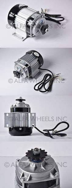 Parts and Accessories 11332: 48V 500W Electric Scooter Eatv Quad Gokart Brushless Motor Diy Reduction Motor -> BUY IT NOW ONLY: $98 on eBay!