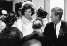 Jackie and her husband John Kennedy in Venezuela.