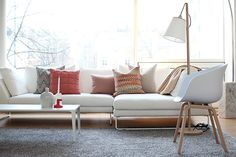 "white sofa Adea ""Band"""