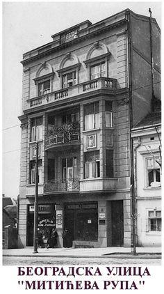 Belgrade street, Mitić's Hole, in Belgrade ~ Serbia