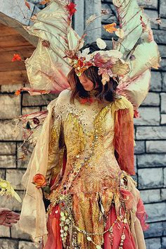 Fall Fairy costume by AmandaLee'sImaginography, via Flickr