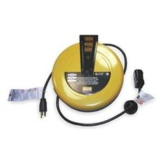 Cord Reel, Commercial, 25Ft, 16/3, SJT, 10A by Hubbell. $228.78. Automatic Retracting Electric Cord ReelsDurable, high-performance reels ensure safe and effective wire management.UL Listed and CSA Certified.Steel constructionCommercialCompact size. Mount on ceiling, wall, or bench.Cord Reel, Commercial, Automatic Retracting, Gauge/Conductor 16/3, Cord Type SJT, Cord Length (Ft.) 25, Color Yellow, Voltage 125, Max. Amps 10, Watts 1250, Temp. Range (F) 40 To 110, NEMA Con...