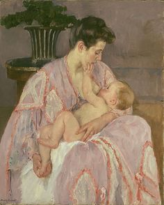 Young Mother Nursing Her Child | The Art Institute of Chicago