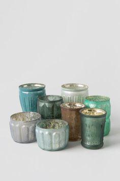 Mercury Glass Votive Holders Set of 8 $46.00