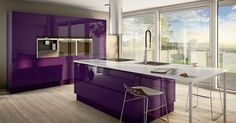 JKE Design ⭐ Choose your color; JKE Design offers 2000 NCS-colors ⭐ Want to be a little crazy, choose purple like this one; awesome! :-)
