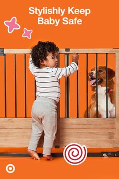 Create a safer space for Baby with the on-trend Summer Infant Rustic Home Sliding Baby Gate. It accommodates openings 29 to 42 inches wide, and it swings open for walk-thru ease. It's a babyproofing dream. Target Baby, Baby Gates, Baby Safety, Baby Time, Summer Baby, Baby Fever, Girl Nursery, Baby Room, Cute Babies