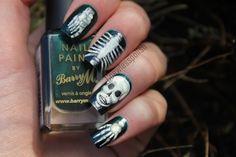 bone  #nail #nails #nailart