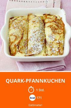 Quark-Pfannkuchen - smarter - Kalorien: 171 Kcal - Zeit: 1 Std. | eatsmarter.de