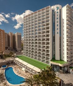 Fachada frontal - Hotel RH Princesa Benidorm