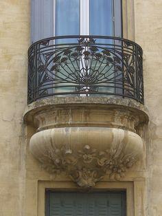 Art Nouveau, Avignon France