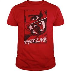 They Live Graphic Poster - design your own shirt #shirt #fashion