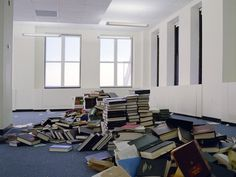 Abandoned office. Photographer: Phillip Toledano
