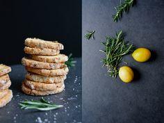 Rosemary & Lemon Heidesand Cookies