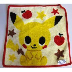 Pokemon Center 2012 Pokemon Time #5 Campaign Pikachu Chenille High Grade Towel Handkerchief