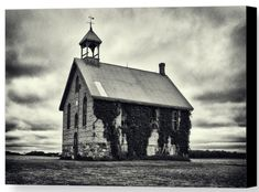 Come check out my latest work where I photographed an old abandoned schoolhouse in Huron County, Ontario. Huron County, Black And White Prints, New Art, Ontario, Abandoned, Homeschool, House Styles, Photography, Left Out