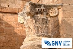 #Capital of #Corinthian column in old #Sbeitla, #Tunisia. Discover #GNV routes from/to#Maghreb here: www.gnv.it/en/