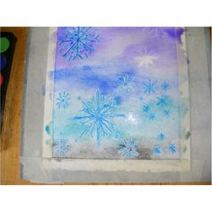 Snowflake Elementary Artwork: A Lesson on Snow Globe Painting and Snowflake Scenes Art Lessons, Watercolor Projects, Watercolor Art Lessons, Watercolor Art Journal, Painting, Artwork, Abstract, Winter Art, Easy Paintings