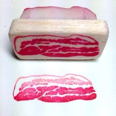 Bacon Stamp