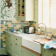 kitchen pictures white cabinets 8 best cooking apple green 32 paint farrow and 5523