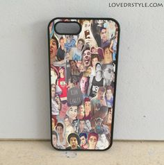 Kian Lawley Collage | iPhone 4 Case | iPhone 5 Case | iPhone 5C Case | iPhone 6 Case | Samsung Galaxy S4/S5 Cases - lovedrstyle