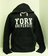 york university hoodie. sweatshirt, york university bookstore hoodie j