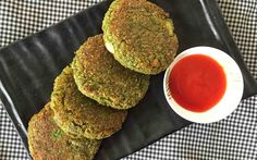 This Green Spinach & Oats Cutlet is quick and easy to make and healthy too!