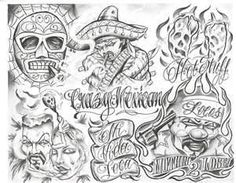 Cartoon Gangster Chicano Tattoo Mister Flash Book Ebay R Do It