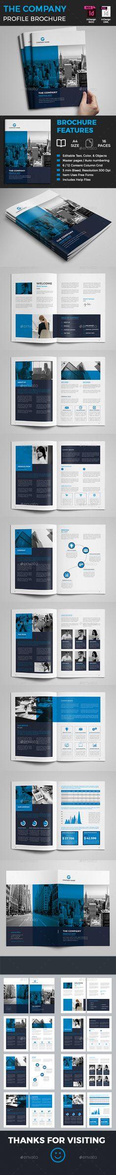 #Corporate #Brochure - Corporate Brochures Download here: https://graphicriver.net/item/corporate-brochure/20042552?ref=alena994