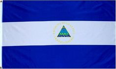 """Nicaragua National Country Flag - 3 foot by 5 foot Polyester (New) by Country Flags """"M-N"""". $5.24. 2 Metal Grommets For Eash Mounting with Canvas Hem for long lasting strength. 3 Foot by 5 Foot, Indoor-Outdoor, Lightweight Polyester Flag with Sharp Vivd Colors. Express Domestic Shipping is OVERNITE 98% of the time, otherwise 2-day.. FAST SHIPPER: Ships in 1 Business Day; usually the Same Day if pmnt clears by noon CST. Express International Shipping is Global Expre..."""