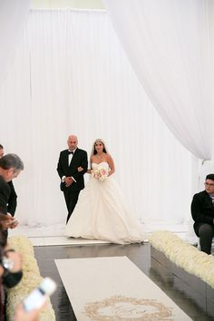 Chanel Inspired Wedding at the Vibiana