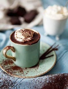 Ok I'm not sure what that is! But it looks like chocolate!!!!! And whipped cream!! And you drink it!!! So it has to be good....