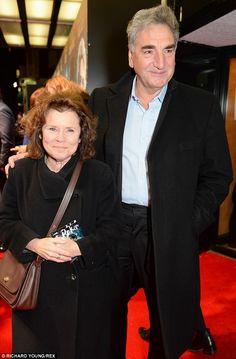 Imelda Staunton and her husband Downton Abbey star Jim Carter