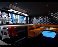 Young and Creative Karaoke Room Design in China