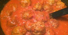 Griekse gehaktballetjes in tomatensaus - Lekker eten met Marlon