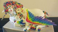 Absolutely Magical Rainbow Unicorn Cake