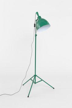 Industrial Tripod Floor Lamp #urbanoutfitters
