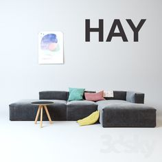 hay mags soft modulaire bank ontzettend fijne bank met. Black Bedroom Furniture Sets. Home Design Ideas