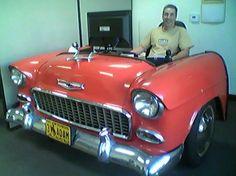 55 Chevy desk