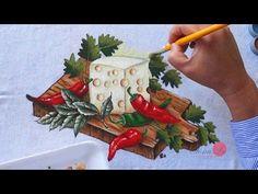 Queijo e Pimentas em Tecido (Aula 77) - YouTube
