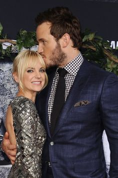 Chris Pratt spoke with his wife, his TV wife, and his movie wife all at once.