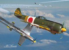 Ki-84 Hayate & Nakajima Ki-44