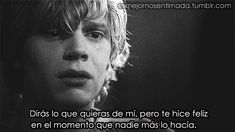love tate langdon american horror story Evan Peters couple cute suicidal Violet Harmon AHS relationships taissa farmiga self harm cutting ghost murder house serial killer homicidal Tate And Violet, Tate Y Violeta, Kit Walker, Peter Maximoff, American Horror Story 3, Comme Des Garcons, My Heart Is Breaking, Call Her, Horror Stories