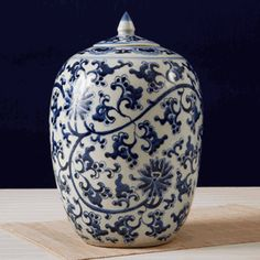Set of 2 Chinese Blue