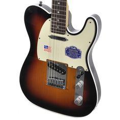 Fender American Deluxe Telecaster - Three Tone Sunburst