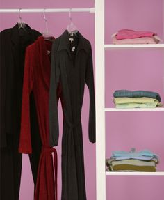 Organise your wardrobe in six easy steps