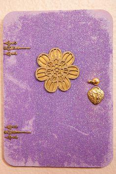Purple Fairy Dust Door by CrystalandLeaf on Etsy