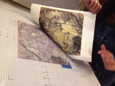 Encaustic Collagraph Printmaking with Textiles Collagraph Printmaking, Embossed Fabric, Wax Art, Encaustic Painting, Dot Painting, Fabric Painting, Elements Of Art, Gravure, Drawing