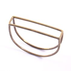 Half Moon Bangle by Mikinora, found on Uncovet.