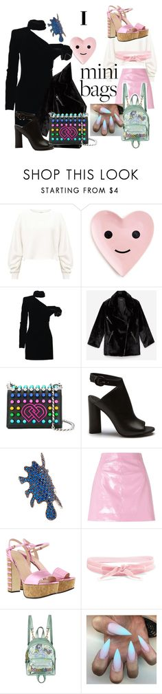 """""""MLP vs. d squared"""" by sneakeraddicted ❤ liked on Polyvore featuring Miss Selfridge, ban.do, Yves Saint Laurent, Dsquared2, Joanna Laura Constantine, Gucci, Aamaya by Priyanka and Moschino"""