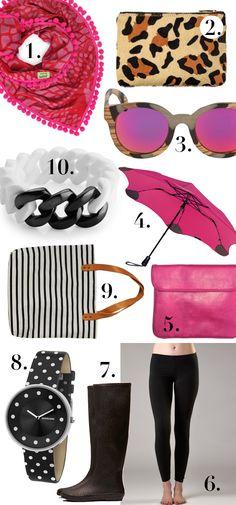 Hipster Mum's top 10 fashion picks